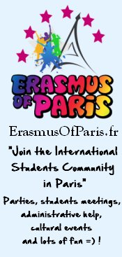Join the International Students Community in Paris, Parties – Students meetings, accommodations, cultural events, administrative help and lots of fun!